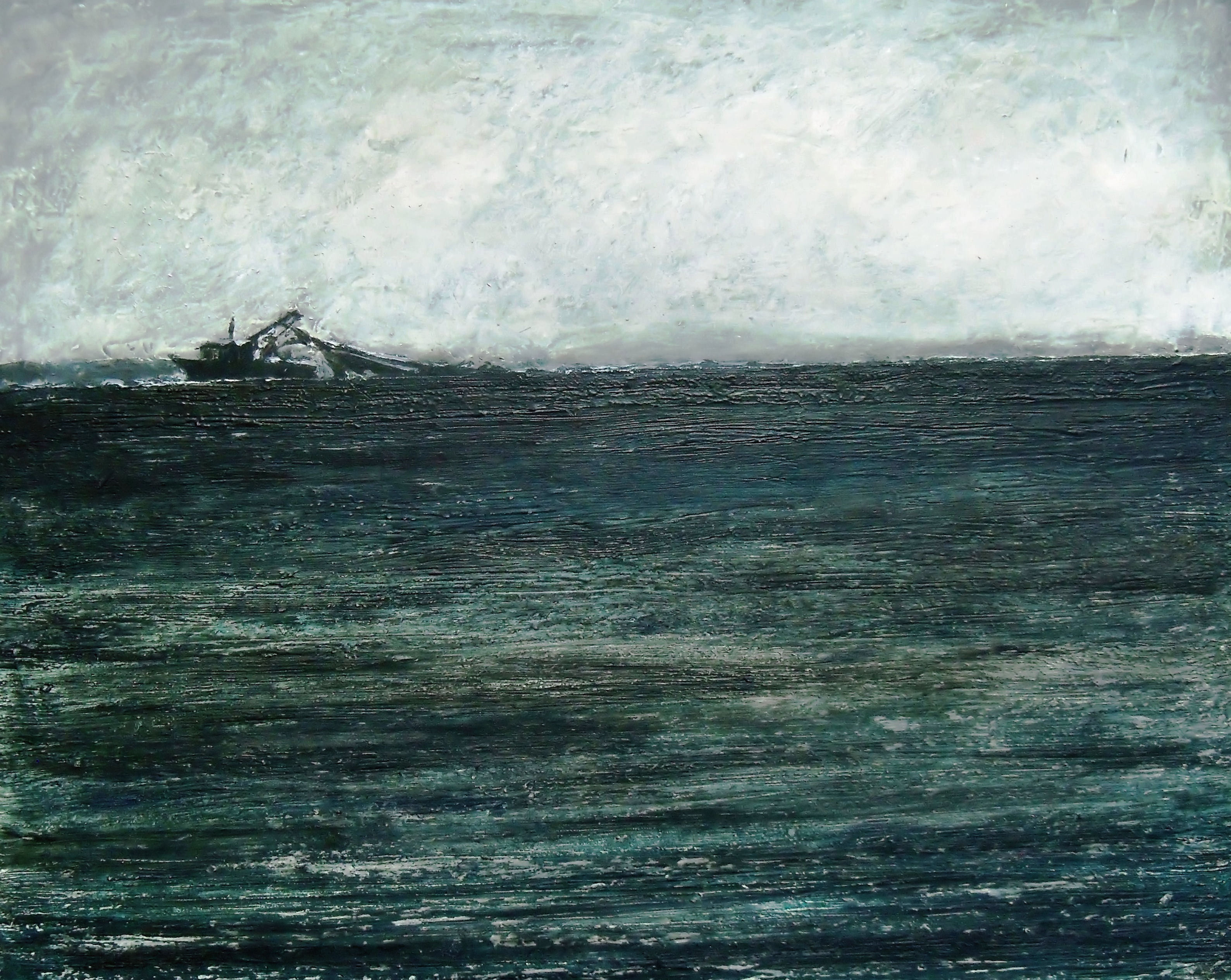 Aransas Bay-Acrylic on canvas-16h x 20w in