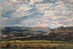 Abiquiu NM-Oil on canvas-30h x 40w in