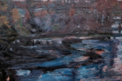 Achafalaya (I)-Acrylic on canvas-30h x 36w in