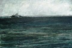 Aransas Bay-Acrylic on canvas-16h x 20w in