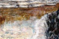 Pelican Island-Acrylic on canvas-30h x 24w in