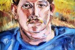 Barry-Oil on canvas-20h x 16w in
