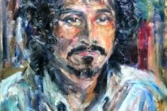 Jose Gomez-Acrylic on canvas-20h x 16w in