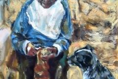 Julieta-Acrylic on canvas-20h x 16w in