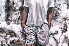Leonardo Dos Santos-Acrylic on canvas-36h x 24w in