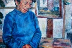 Mama Gomez-Acrylic on canvas-20h x 16w in