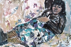 Montse De Olmos-Acrylic on paper-16h x 24w in