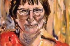 Nancy-Oil on canvas-20h x 16w in