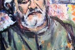 Sergio Sandival-Acrylic on canvas-20h x 16w in